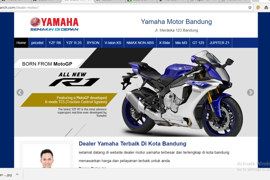 pembuatan website dealer