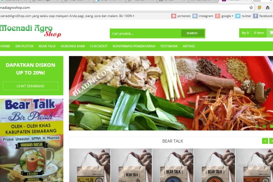 pembuatan toko online