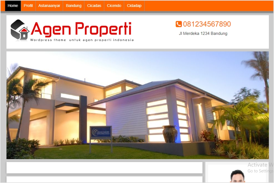pembuatan website properti