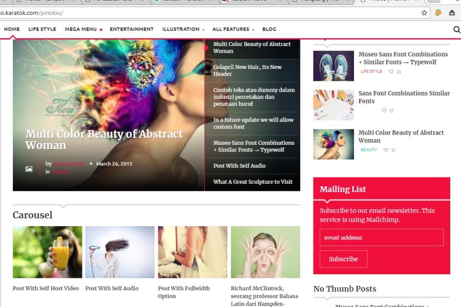 pembuatan website berita