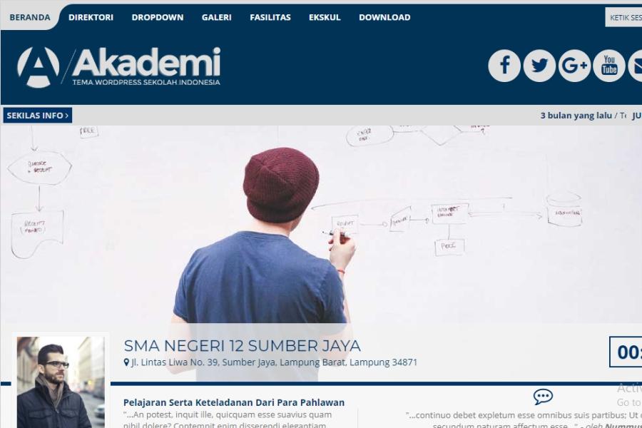 Theme Web Sekolah